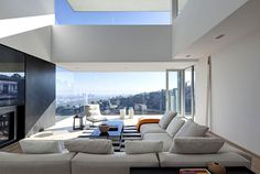Contemporary Residence on the Edge of Sunset Plaza Drive - #architecture, #house, #housedesign, home, architecture