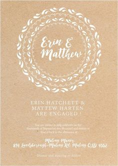 Floral Mandala - Engagement Invitations #paperlust #engagement #engagementinvitation #invitation #engagementcards #engagementinspiration #w