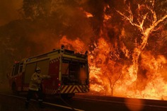Nick Moir Documents The Massive Bushfires Across Australia