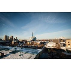 City of Winnipeg Skyline Panorama