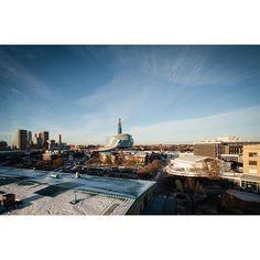 City of Winnipeg Skyline Panorama