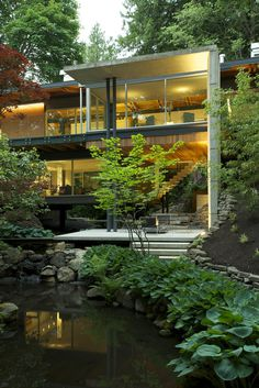 The Perfect Balanced Home: Southlands Residence Surrounded by Lush Vegetation in Vancouver #wood #architecture