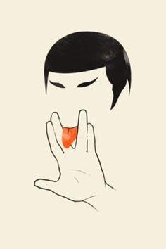 Piccsy :: Recent posts #lick #tongue #spock