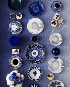 Sara Lindholm #blue #design #porcelain