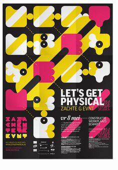 Zachte G on Behance #design #graphic #poster