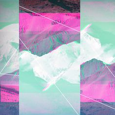 #2012 #landiside #artwork #nature #glitch #multicolor