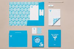 Yksi elämä by Tsto #branding #stationery #blue