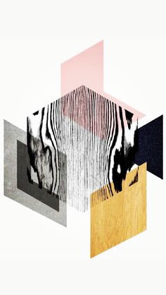 Abstract shapes and wood