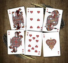 Malam Playing Card Deck by Michael Muldoon #native #playingcards #cards #nativeamerican