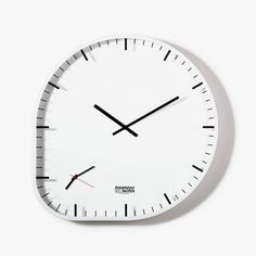 HAUS - Two Timer Clock by Industrial Facility / Tom Hecht #clock #wall #product #establishedsons