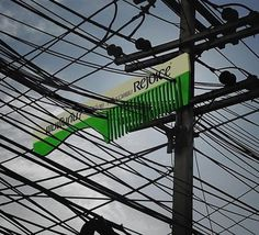 No Conditioner Can Untangle These Power Lines Advertising Gizmodo #ooh