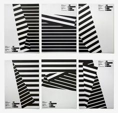Experimental Jetset | Sgustok Design #design #poster #experimental jetset #black and white #lines #1afn