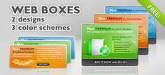 6 psd web boxes Free Psd. See more inspiration related to Template, Box, Web, Graphic, Elements, Clean, Buttons, Psd, Website template, Boxes, Web elements, Web button, Graphic elements, Horizontal, Stylish and Web box on Freepik.