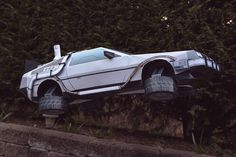 Back To The Future DeLorean Papercraft - JOQUZ #papercraft #delorean #cars #backtothefuture