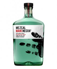 Lovely Package #bottle #mano #label #mezcal #negra