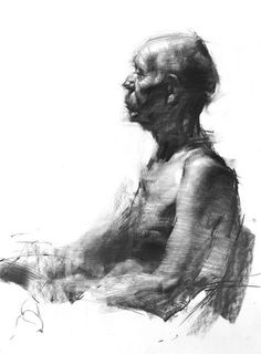 Zin Lim #charcoal #pencil #drawing