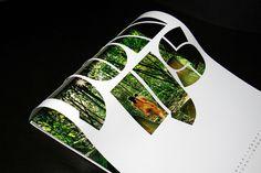 calendar #die #cut #calendar #design #stencil #photography #layout #typography