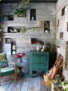 Design*Sponge » Blog Archive » the new saipua #glass #shed #plants #flowers