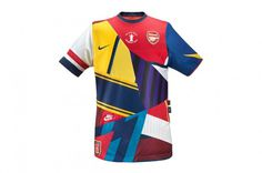 Arsenal London – 20 years with Nike #london #shirt #soccer #nike #football #jersey #patchwork #arsenal