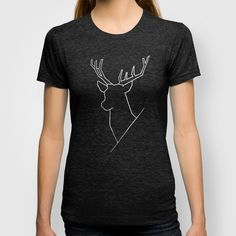 Geometric Deer - t-shirt