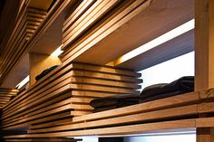 Carhartt store by Francesc Rifé, Barcelona store design #shelf