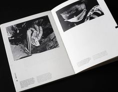 Book design Tsunami, Japan #japan #bound #book #monochrome #tsunami #layout #hand #editorial #typography
