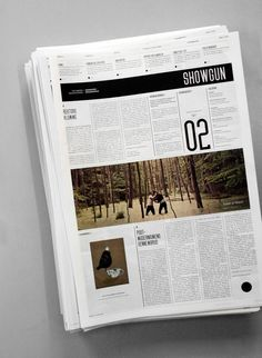 Pinned Image #white #print #gothic #newspaper #black #grid #modernism #magazine