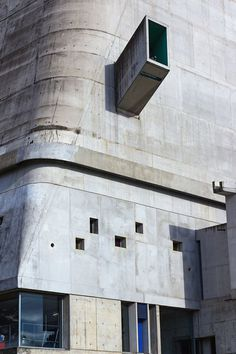 #contrete in #architecture Church of St. Etienne Firminy, France by Le Corbusier #photo by Rafiul Alam
