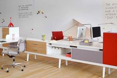 VitraHaus with new interiors April 2012 #interior #office #design #vitra