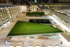 Architecture Photography: Hypar Pavilion / Diller Scofidio + Renfro with FXFowle - Hypar Pavilion / Diller Scofidio + Renfro with FXFowle (9 #lawn #lincoln #diller #center #pavilion #architecture #scofidio+renfro #hypar