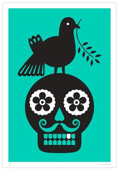 #illustration #dayofthedead