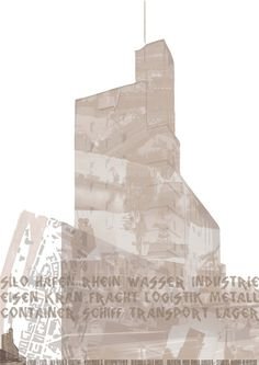 Silo Collage #basel #collage #silo