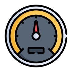 See more icon inspiration related to ui, velocity, transportation, dashboard and speedometer on Flaticon.