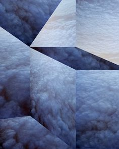 LOVE J: GEOPATTERN. #geometric #blue #pattern #clouds