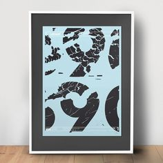 Letraset | Editions of 100 | Berg | + Letraset Instant Lettering | typetoken® #lettering #poster #letraset