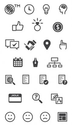 Garuda icons by conBdeBolio #icon #glyphs #icons #iconography