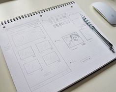 Sketch-for-web #wireframe #scribble