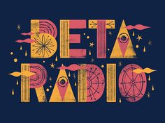 Beta Radio shirt concept #type