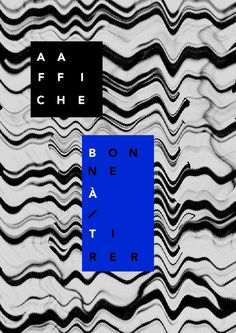 Bien a toi #poster #graphic design #typography