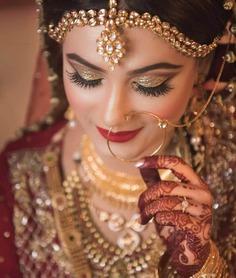dulhan makeup for wedding