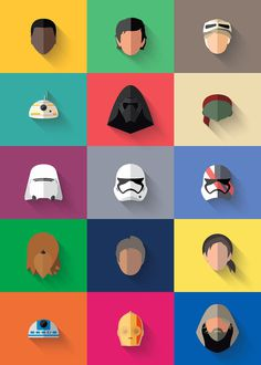 15 free icons Star Wars: The force awakening