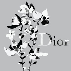 Dior Flowers illustrated by Andrei Robu www.robu.co