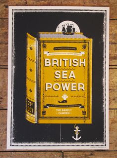 bsp_full #british #power #illustration #sea #poster #telegramme