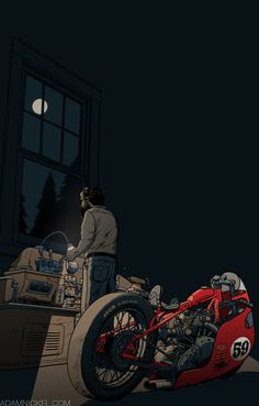 prints 2 #motorbike