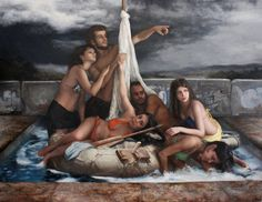Paintings by Cesar Santos #arts #illustrations #inspirations