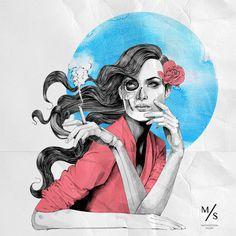 Mustafa Soydan, Fashion, Illustrations #fashion #mustafa #illustrations #soydan