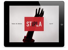 Stipla - Interactive iPad magazine - About #ipad #digital #magazine