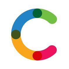 C de colores #font #cs #c #typography