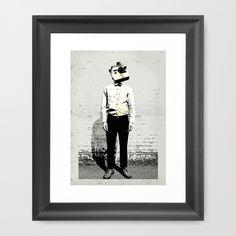 Polaroid Man - Art Print