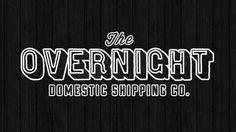 Overnight Shipping Co. | BrandPress Co. #wood #identity #branding #texture